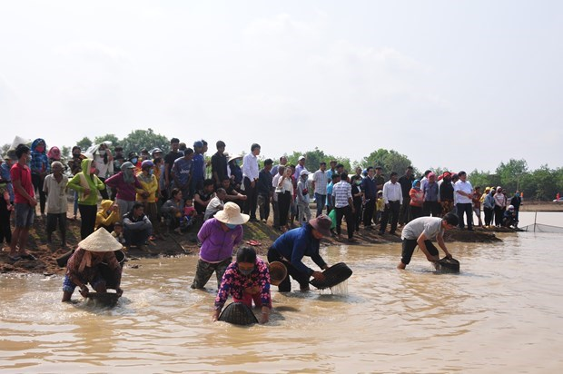 Pha Bau – a unique cultural festival of the Khmer people hinh anh 3