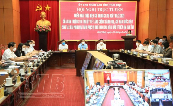 Thai Binh speeds up site clearance to boost economic development hinh anh 1