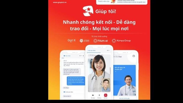 'Made-in-Vietnam' apps facilitate mutual support amid COVID-19 hinh anh 1