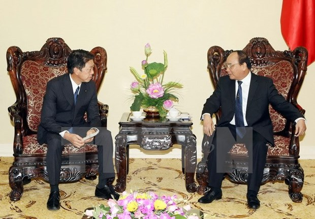 Deputy PM welcomes Japanese guest hinh anh 1