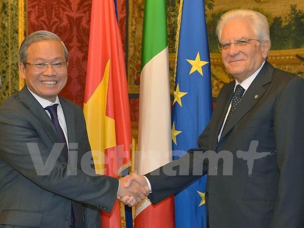 Italian President hopes for closer Vietnam-Italy ties hinh anh 1