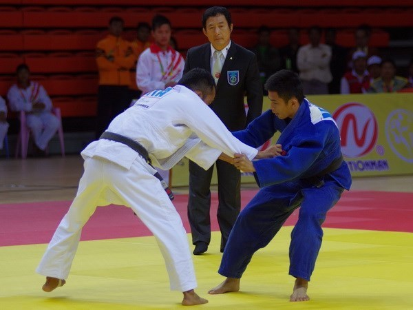 Vietnam International Judo Champs opens hinh anh 1