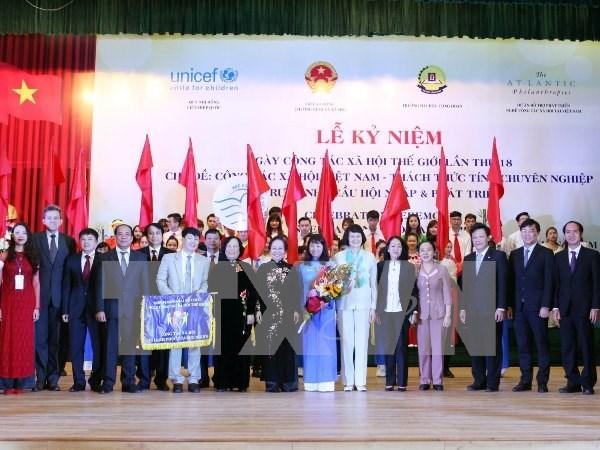 Social work honoured in Hanoi hinh anh 1