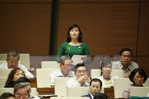 Bills submitted, appraised at parliament's ongoing sitting hinh anh 1