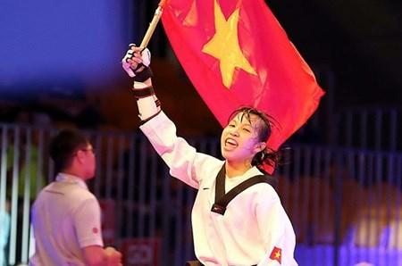Vietnamese taekwondo artist wins best athlete in Morocco hinh anh 1