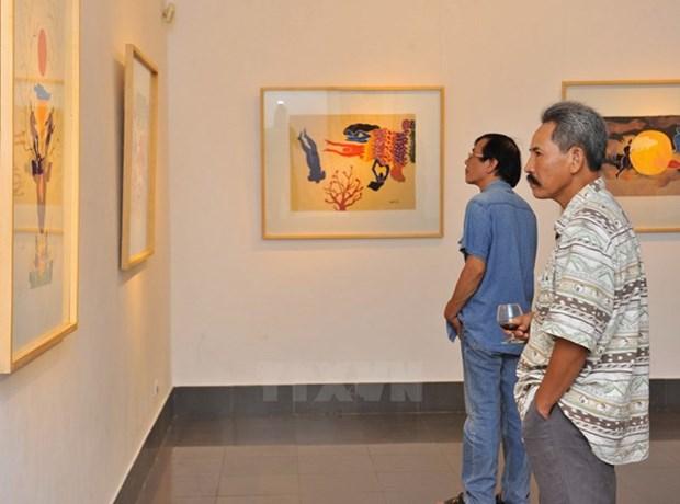 Vietnam, Laos, Cambodia enhance links in fine arts hinh anh 1