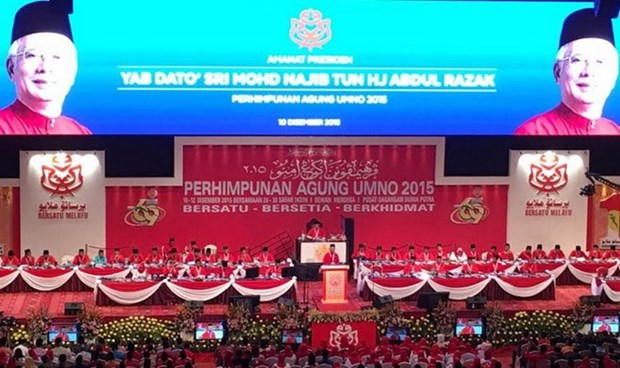 Vietnam attends United Malays National Organisation's general assembly hinh anh 1