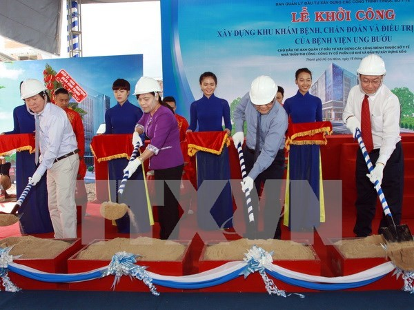 HCM City: Work starts on 8.9-mln-USD facility for cancer treatment hinh anh 1