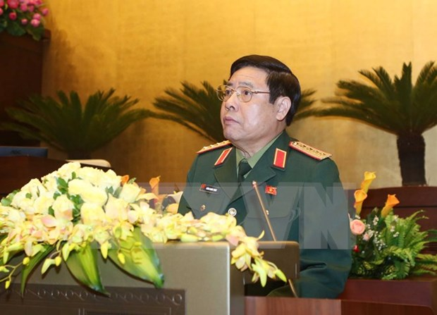 Vietnam's high-ranking military delegation visits Laos hinh anh 1