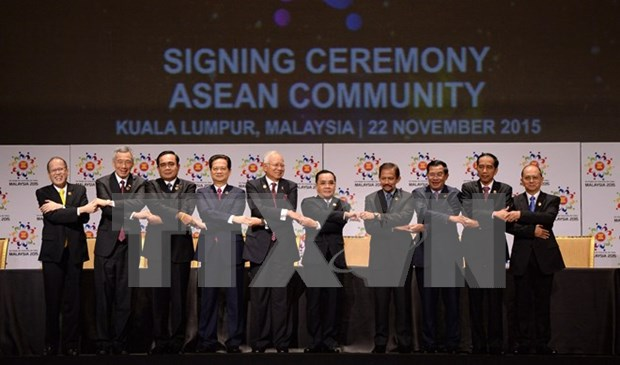 ASEAN Community comes into being hinh anh 1