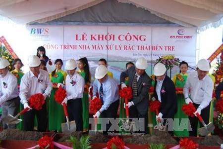 Waste treatment plant built in Ben Tre hinh anh 1