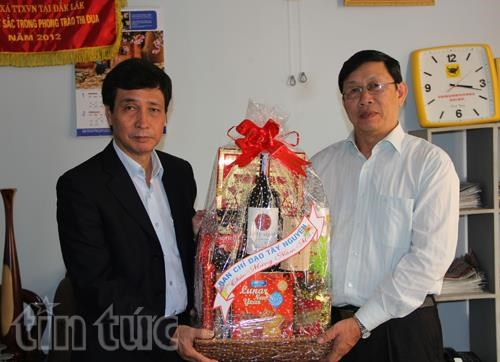 Tet wishes to VNA correspondents in Central Highlands hinh anh 1