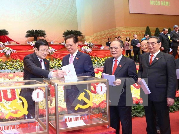 Press release on sixth working day of 12th National Party Congress hinh anh 1