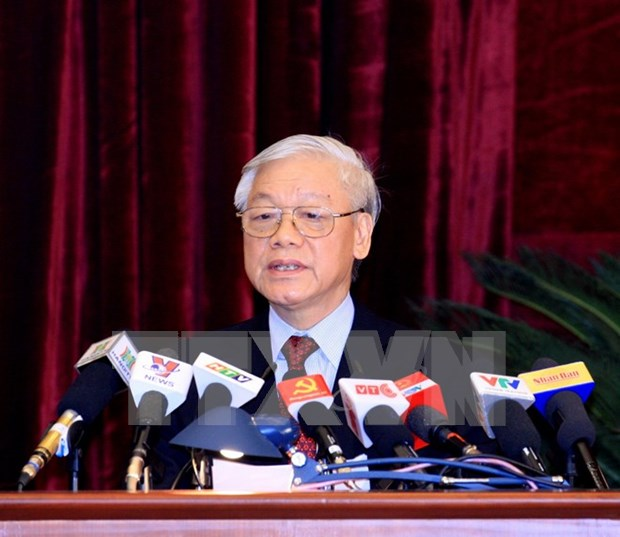 Biography of Party General Secretary Nguyen Phu Trong hinh anh 1