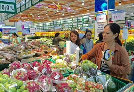 Supermarkets, malls battle for sales hinh anh 1