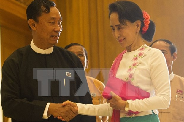 Myanmar new parliament convenes first session hinh anh 1