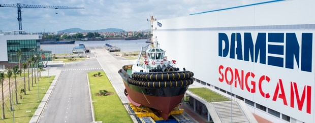 PM approves sale of 70 percent of Damen Song Cam Shipyard hinh anh 1