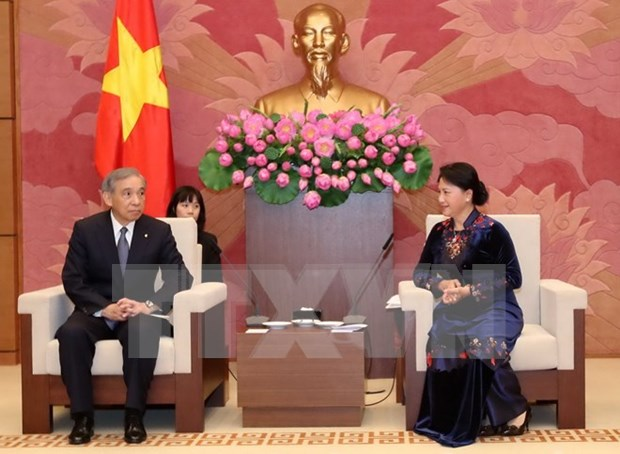 National Assembly Vice Chairwoman receives Japanese guests hinh anh 1