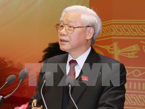 More leaders worldwide congratulate Vietnam Party Chief hinh anh 1