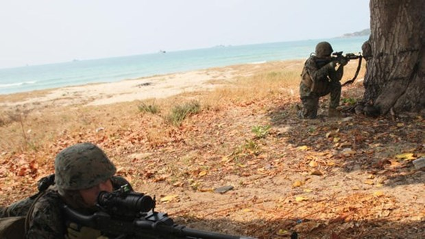 Ground combat exercise launched in Thailand hinh anh 1