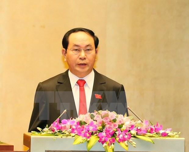 Biography of President Tran Dai Quang hinh anh 1