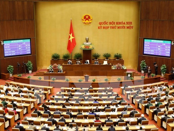 Officials' relief of parliament positions proposed hinh anh 1