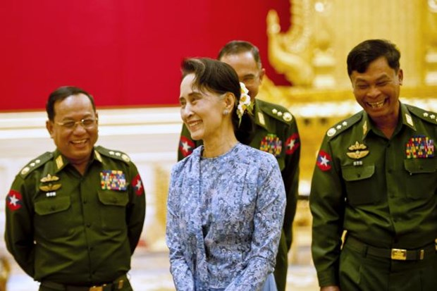 Myanmar's lower house approves state counsellor bill hinh anh 1