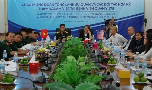 Vietnam, US seek stronger medical cooperation hinh anh 1