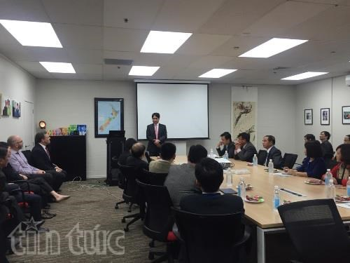 Vietnam, New Zealand step up business links hinh anh 1