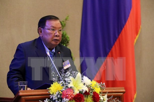 Congratulations to newly-elected leaders of Laos hinh anh 1