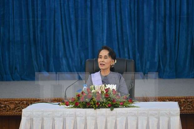 Myanmar Foreign Minister stresses people-centred foreign policy hinh anh 1