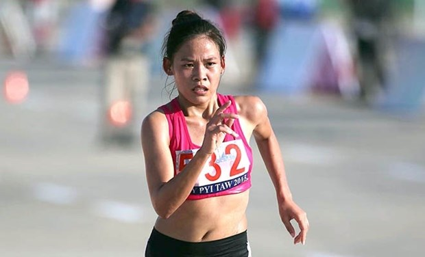 Vietnamese athletes win two golds at Singapore Open hinh anh 1