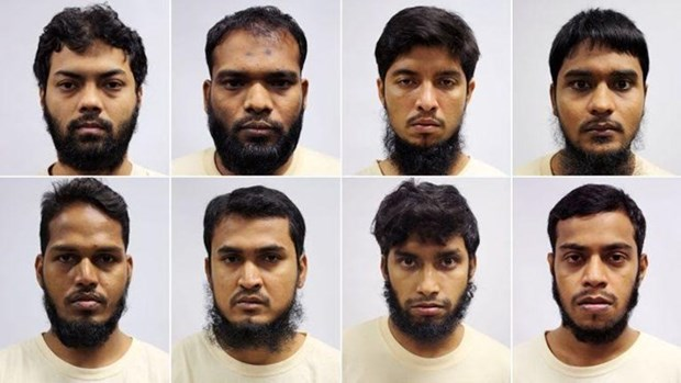 Singapore arrests eight for terror plot in Bangladesh hinh anh 1