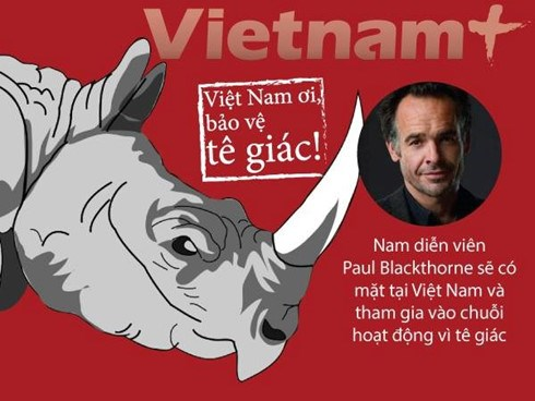 Hollywood filmmaker to join activities for rhino in Vietnam hinh anh 1