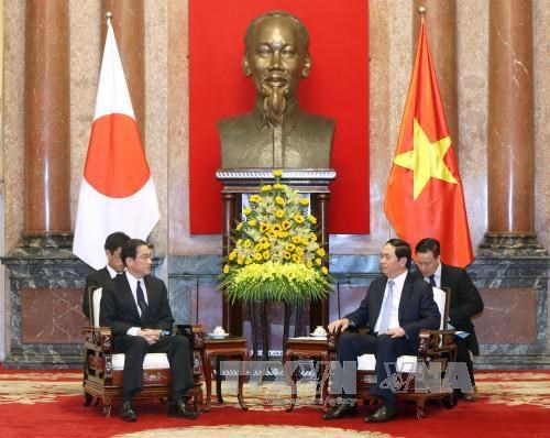 Vietnam considers Japan long-term partner: President hinh anh 1