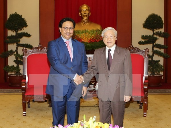 Party chief hopes for stronger ties with Kuwait hinh anh 1