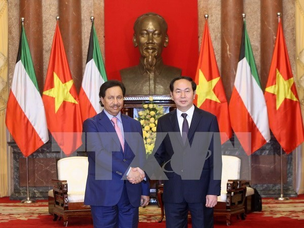 Kuwait among Vietnam's top partners in Middle East: President hinh anh 1
