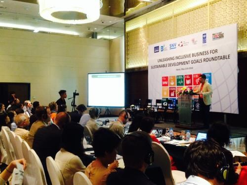Roundtable: Inclusive business, leverage for SDGs hinh anh 1