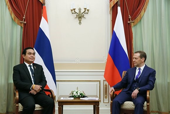Thailand, Russia secure cooperation pacts hinh anh 1