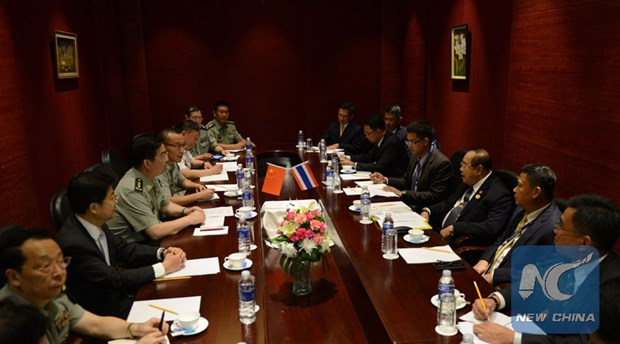 China boosts military links with Myanmar, Thailand hinh anh 1