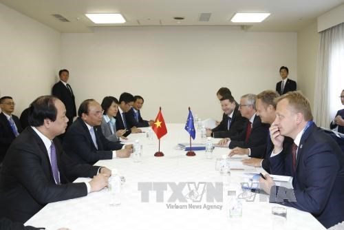PM meets foreign leaders on expanded G7 Summit sidelines hinh anh 1