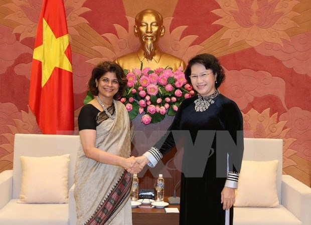 NA leader asks for UN help in realising SDGs hinh anh 1