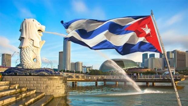 Cuban economic minister visits Singapore hinh anh 1