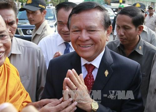 Cambodian parliament allows continued action against opposition leader hinh anh 1