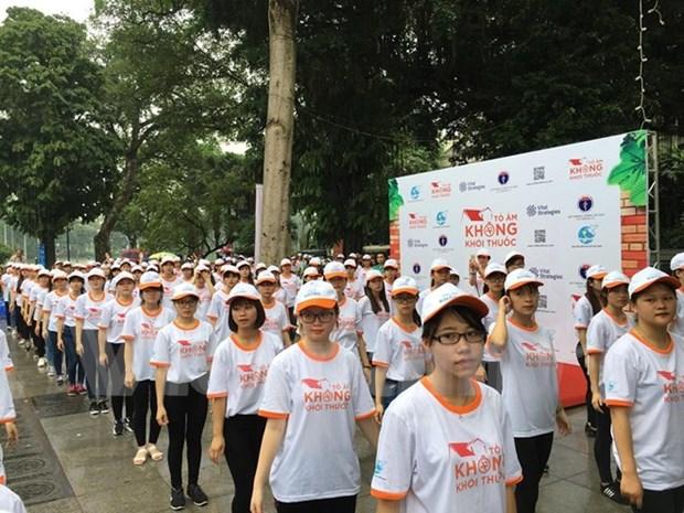 Women called to create smoke-free homes hinh anh 1