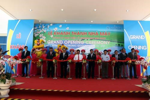 Japanese electronic manufacturing plant inaugurated in Quang Ngai hinh anh 1