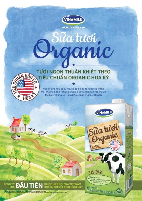 Vinamilk's organic products meet US standards hinh anh 1