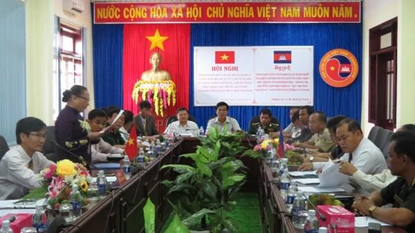 Vietnam, Cambodia promote cooperation in borderline areas hinh anh 1