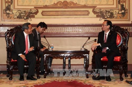 Laos wishes to boost sci-tech cooperation with HCM City hinh anh 1