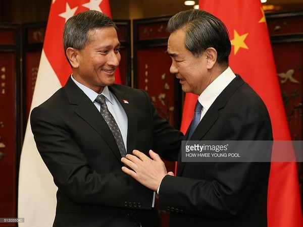 Singapore willing to connect ASEAN, China hinh anh 1